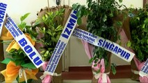 Dünyanın her yerinden Şanlıurfa'ya çiçek yağdı