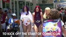 Cosplayers Out In Force At San Diego Comic-Con