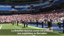 """Le jeune brésilien Vinicius Jr au Real Madrid: """"Je suis prêt!"""""""