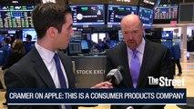 Jim Cramer: Apple Is Close to a $1 Trillion Market Cap