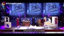Ángela Torres homenajeó a su abuela Lolita Torres y la rompió