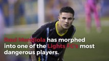 Raul Mendiola takes advantage of second chance with Lights FC