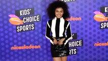 Daniella Perkins 2018 Kids' Choice Sports Awards Orange Carpet