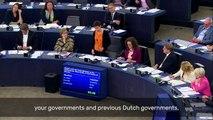 Our co-president Ska Keller addressed today the Prime Minister of The Netherlands Mark Rutte