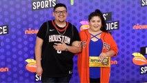 Rico Rodriguez and Raini Rodriguez 2018 Kids' Choice Sports Awards Orange Carpet