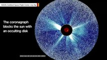 Scientists Spot Fine-Grained Structures In Sun's Outer Corona