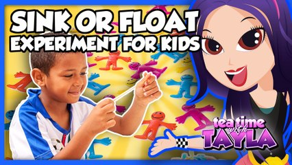 Sink or Float Experiment | Science for Kids on Tea Time with Tayla