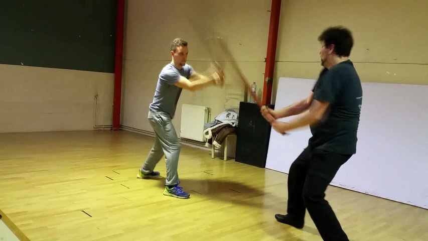 Training Escrime pour Casting. Frédéric Trin