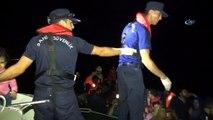 Çeşme'de 41 göçmen yakalandı