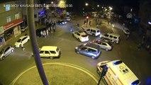 Samsun'daki doğalgaz patlaması MOBESE'de