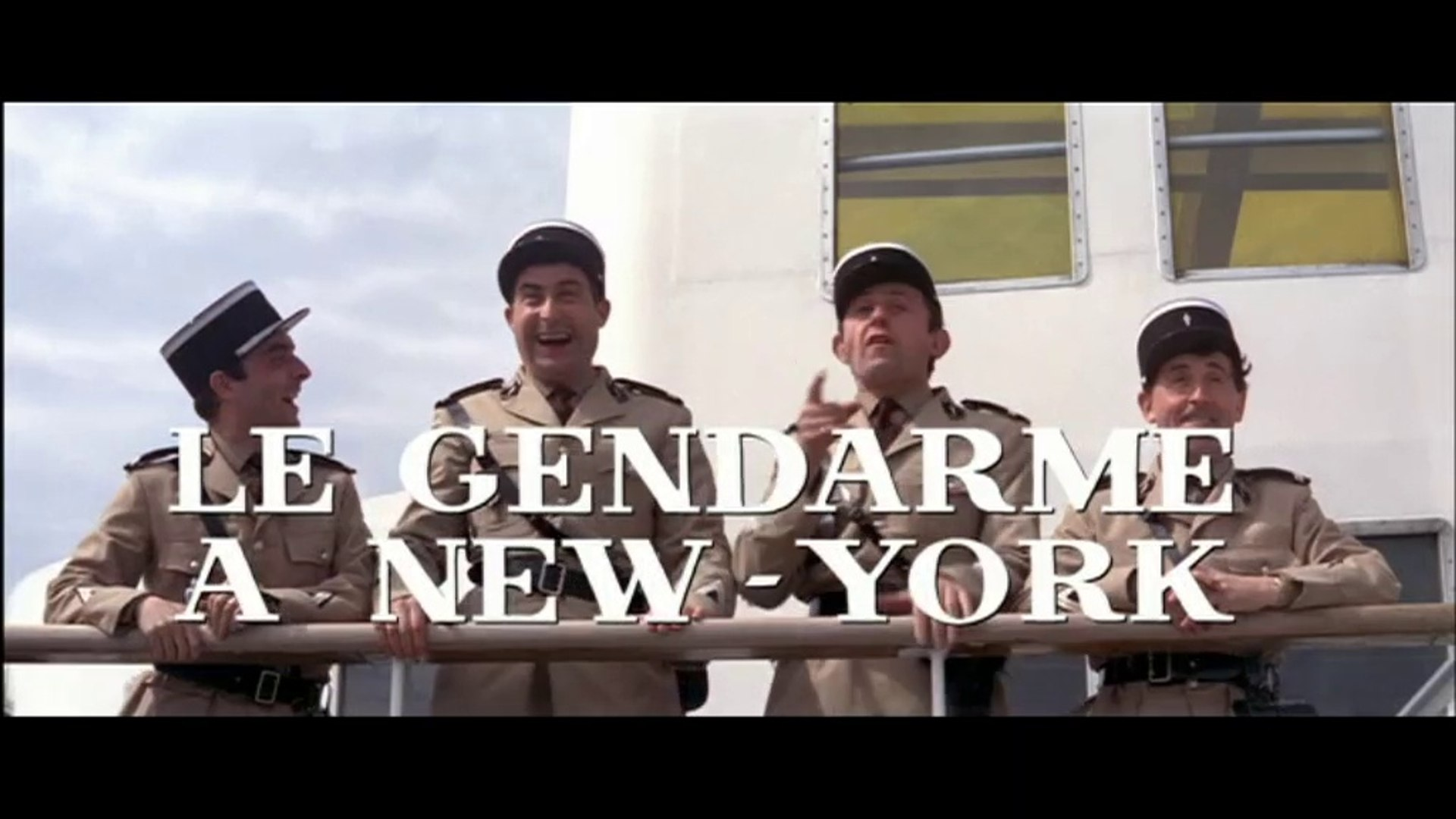 Le Gendarme à New York (Bande annonce - Trailer VF Movies Version 1965) HD - HQ - 16.9