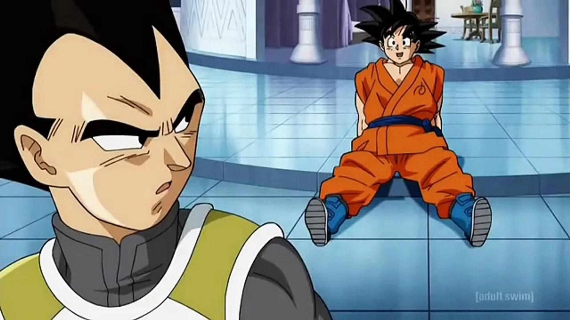 Dragonball Super Goku Vegeta Train In The Hyperbolic Time Chamber English Dub Dailymotion Video