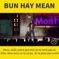 Superbe message de tolérance de Chinois Marrant Aka Bun Hay MeanMerci Montreux Comedy !