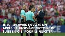 Didier Deschamps a reçu un message de Zinédine Zidane après la victoire en Coupe du Monde