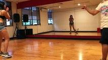 Girls Hiphop Class with Jaye 1 (Dirty Sexy Money David Guetta)