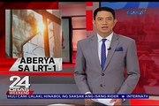 Kable ng LRT-1 sa pagitan ng Gil Puyat at Libertad, pumutok dahil sa ulan