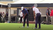Tiger Woods Puts Up A Fight At The Open Championship