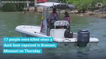 17 Died When A Boat Capsized In Missouri. 9 Were From The Same Family