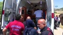 Yolcu Minibüsü Şarampole Yuvarlandı- 1 Ölü, 1 Yaralı