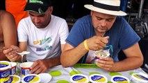 Larians-Munans Haute-Saône Concours du plus gros mangeur de cancoillotte