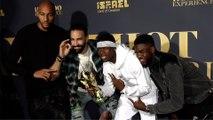 Steven Nzonzi, Adil Rami, Paul Pogba, Samuel Umtiti 2018 Maxim Hot 100 Experience