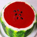 This Watermelon Cake is ALMOST too pretty to eat Full recipe: