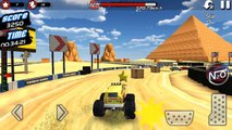 Monster Truck 4x4 Stunt Racer / Monster Truck Cars Games / Android gameplay FHD