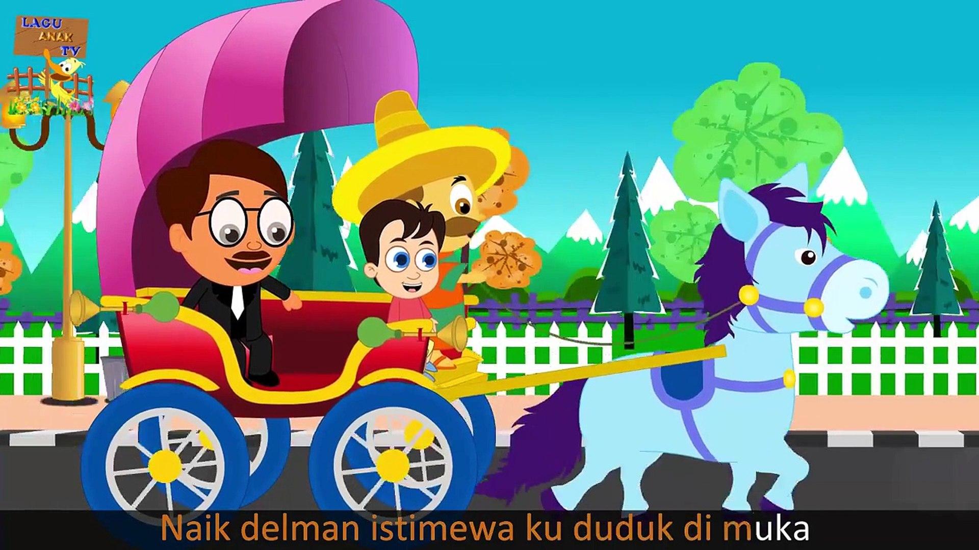 Naik Delman Istimewa Versi Baru Lagu Anak Indonesia Populer