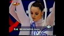 Yulia BARSUKOVA (RUS) ball - 2000 Europeans Zaragoza Team