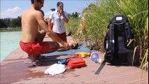 exercice baignade lorette