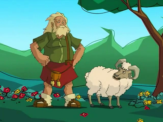 Jackie Chan Adventures S03E08 Sheep In Sheep Out