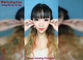 Des femmes asiatiques retirent leur maquillage