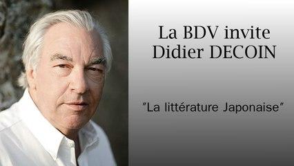 Didier DECOIN - la litterature japonaise