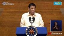 Duterte addresses War on Drugs critics, asserts concern for human lives