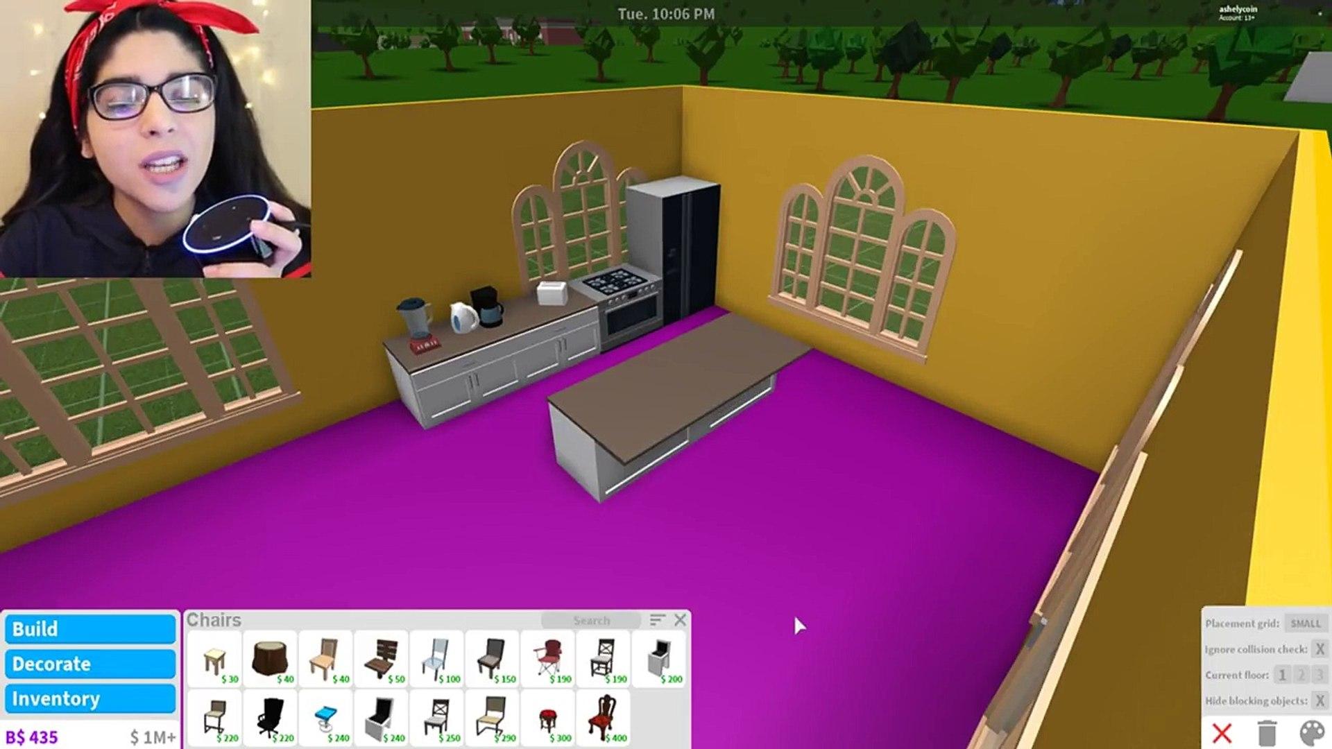 Amazon Echo Builds My House Roblox Bloxburg Roblox Roleplay