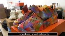 Abdullah Saeed challenges Blake Barash of B Street Shoes to make some custom Nike Air Force 1s into Abdullah Foot 1s