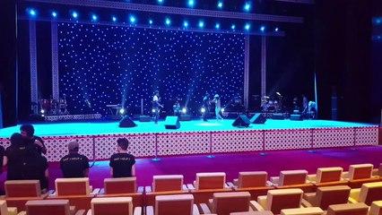 Omar & Rajaa Belmir | (عمر و رجاء بلمير - أجواء إفتتاح حفلة بلقيس و سعد لمجرد (مهرجان صيف قطر