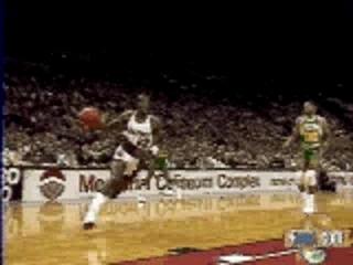 NBA – Clyde Drexler – BASKETBALL