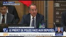 """Affaire Benalla: """"Je découvre l'existence de cette affaire"""" le 2 mai au matin, """"j'ai reçu un appel d'un collaborateur du directeur de cabinet du Président de la République, affirme le Préfet de police de Paris"""