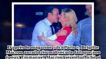 Brigitte Macron «verte de jalousie » après un faux-pas de son mari