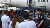 Customs officials seize 80-seater plane over alleged tax fraud