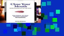 New E-Book Close Your Mouth: Buteyko Breathing Clinic self help manual free of charge