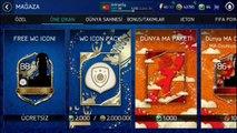 EA BEDAVA ICON DAĞITTI !! - FIFA MOBILE WORLD CUP !!