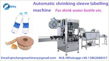 automatic shrink sleeve labeling machine for mineral water labeler PVC PET OPS Label machine