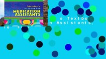 Popular  Mosby s Textbook for Medication Assistants, 1e  Full
