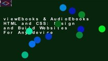 viewEbooks & AudioEbooks HTML and CSS: Design and Build Websites For Any device
