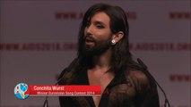 Conchita Intervention 22nd International AIDS Conference (AIDS 2018)_ 23.07.2018