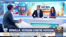 Affaire Benalla: version contre version