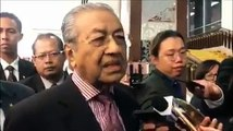 """WATCH: """"We cannot say that we will never build this high-speed rail"""": Malaysian Prime Minister Dr. Mahathir bin Mohamad on the Kuala Lumpur-Singapore High-Speed"""