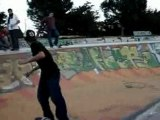Upward skate